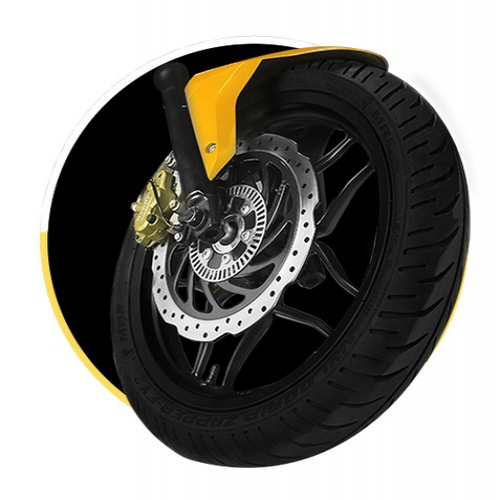Bajaj Pulsar Rs 200 Tyre With Disc Brake