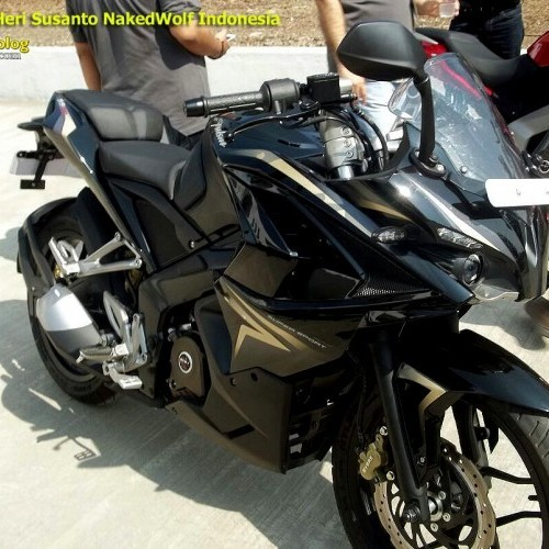 Bajaj Pulsar Rs200 Black Colour Fairing