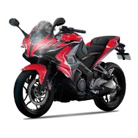 Pulsar RS 400 Loan red