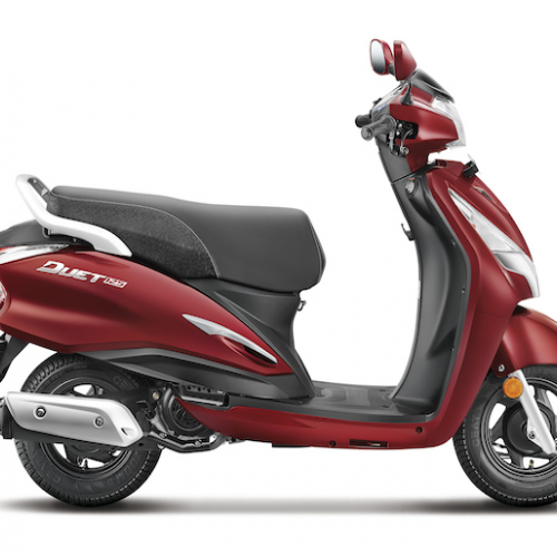 Hero Duet 125Cc Color Red