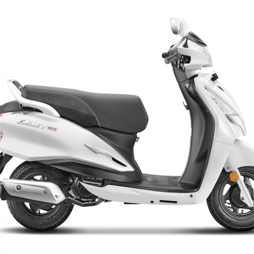 Hero Duet 125Cc Color White