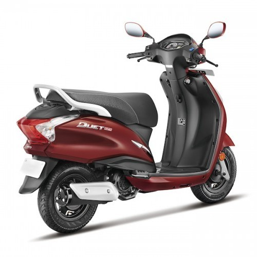 Hero Duet 125Cc Engine Seat Grab Rail