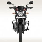 Hero Glamour 125 Disc Self And Alloy Front View
