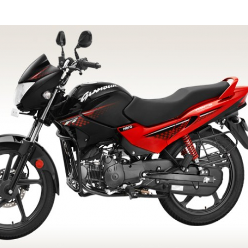 Hero Glamour 125 Disc Self And Alloy Left Side View