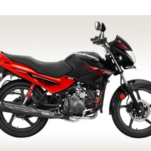 Hero Glamour 125 Disc Self And Alloy Right Side View
