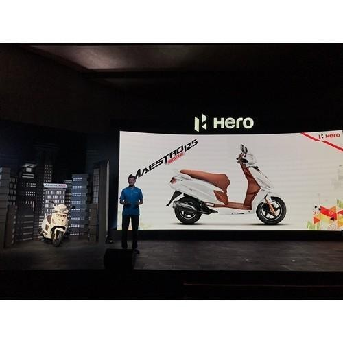 Hero Maestro Edge 125 Launched In India