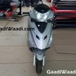 Hero Maestro Edge Scooter Color Silver