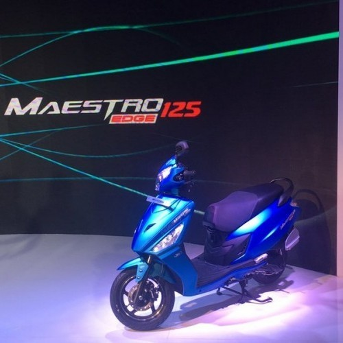 Hero Maestro Edge 125cc Blue Color
