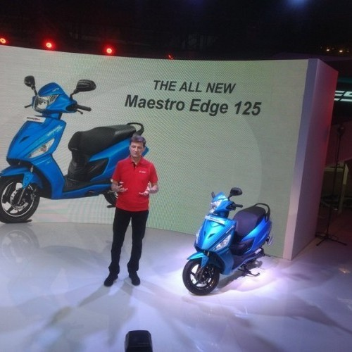 Hero Maestro Edge 125cc Launch Image 1