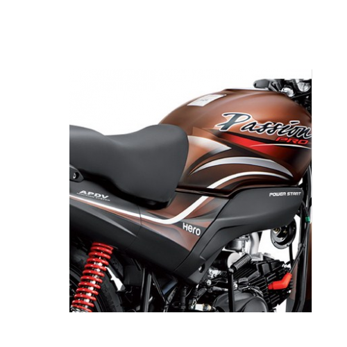 Hero Passion Pro 100 Petrol Tank Graphics