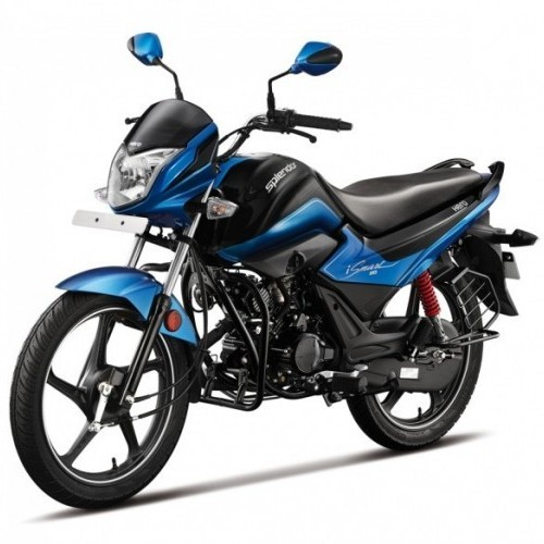 Hero Splendor Ismart 110cc Front Quarter View