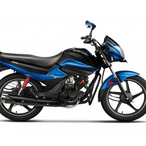 Hero Splendor Ismart 110cc Side View