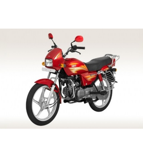 Hero Splendor Plus 100 Left Side View