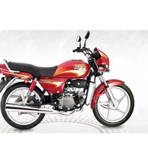 Hero Splendor Plus 100 Right Side View