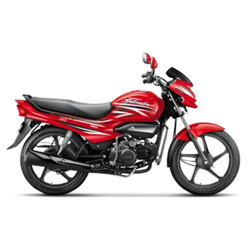 Hero Super Splendor Ismart Side View