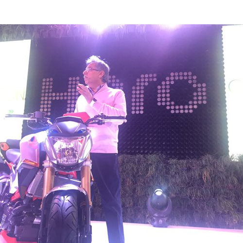 Hero Xf3r Bike Launch Picture