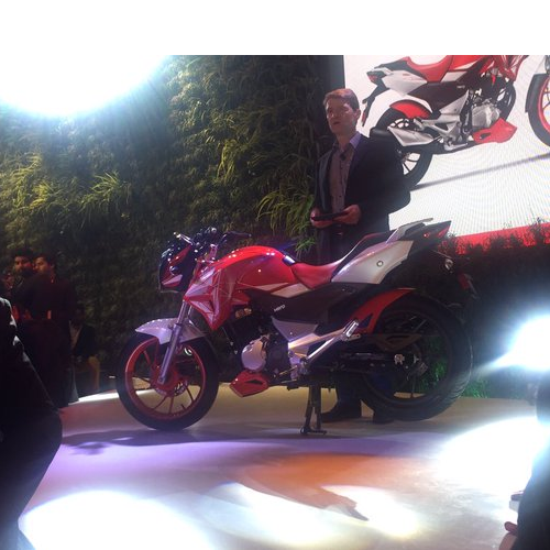Hero Xtreme 200s Launch Picture