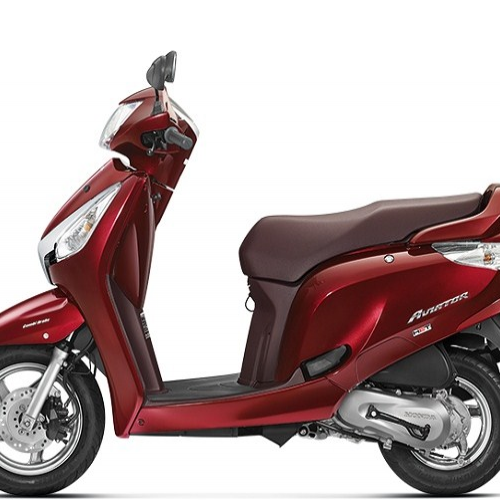 Honda Aviator Left Side View