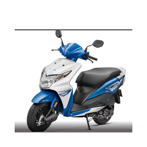 Honda Dio Right Side View