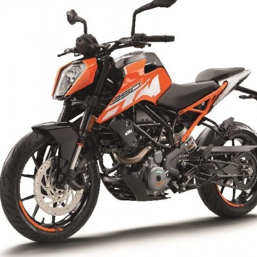 Ktm Duke 250 Side View