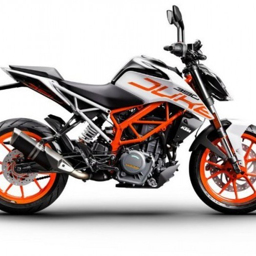 Ktm Duke 390 White Color
