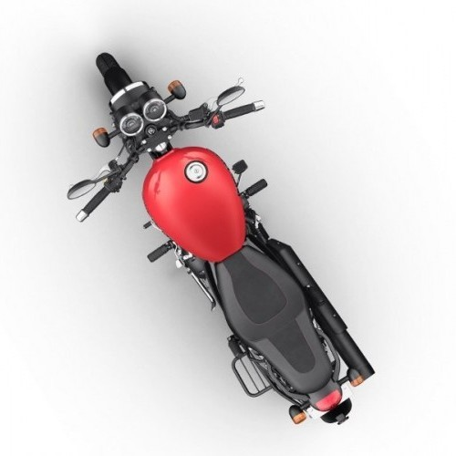Thunderbird 350x Top View Red