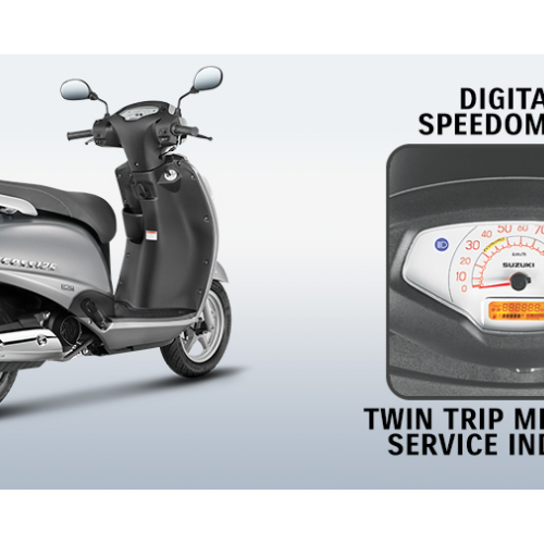 New Suzuki Access 125 Digital Odometer