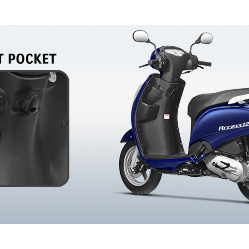 New Suzuki Access 125 Front Pocket