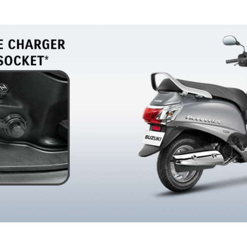 New Suzuki Access 125 Mobile Charger