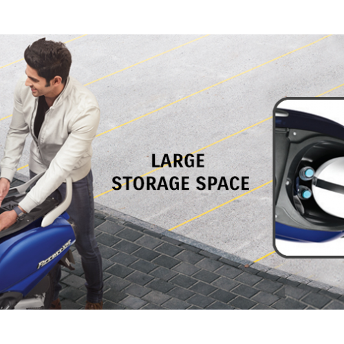 New Suzuki Access 125 Underseat Storage Space