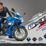 Suzuki Gixxer Sf With Salman Khan