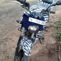 Tvs Apache 200 Front View Spy Picture