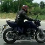 Tvs Apache 200 Side View Spy Picture