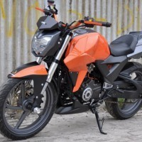 Tvs Apache Rtr 220 Front View