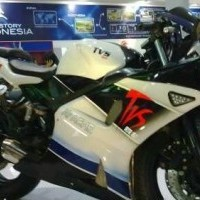 Tvs Apache Rtr 220 Side View