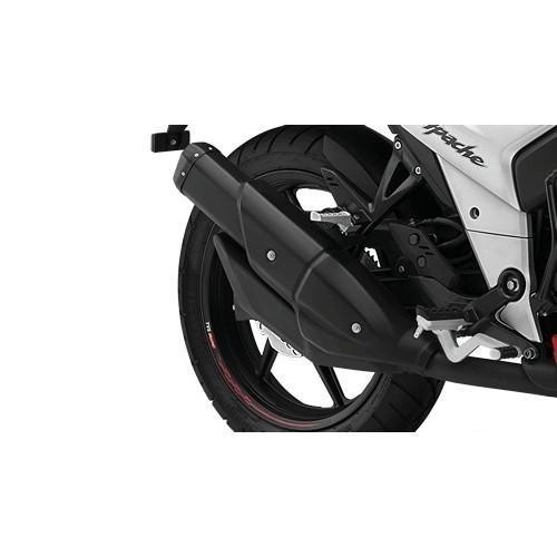 Tvs Apachertr160cc Racing Double Barrel Exhaust