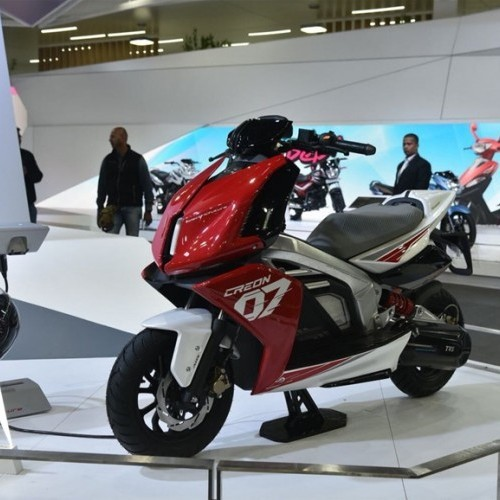Tvs Creon Electric Scooter 1