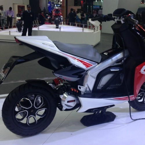 Tvs Creon Electric Scooter Picture