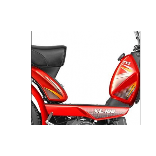 Tvs Heavy Duty Super Xl Petrol Tank Grphics