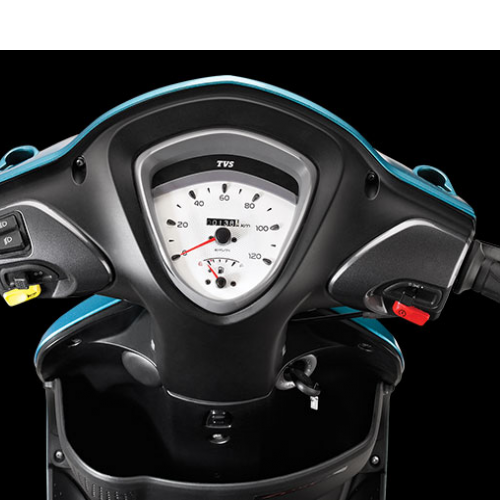 Tvs Scooty Zest 110 Dashboard