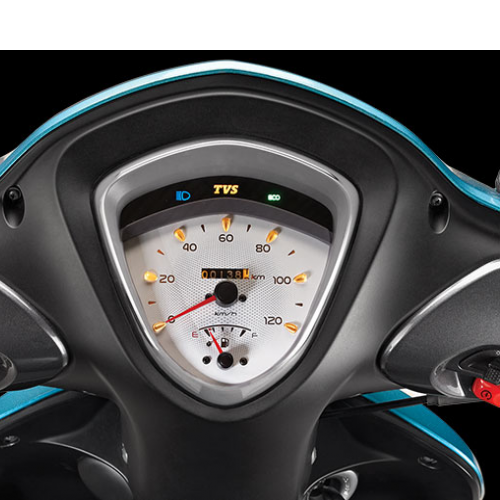 Tvs Scooty Zest Instrument Panel