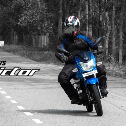 2016 Tvs Victor India