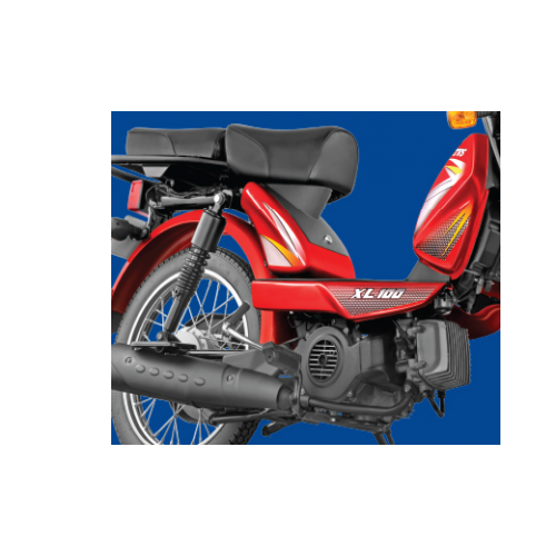 Tvs Xl 100cc Bike Metal Body