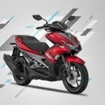 Yamaha Aerox 155 Red
