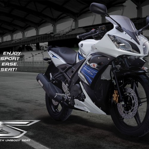 Yamaha R15s Track Picture