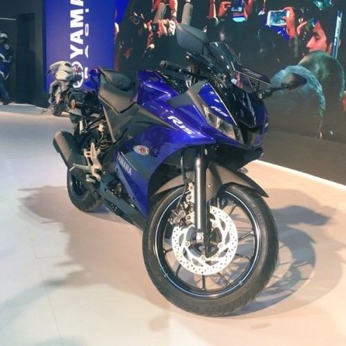 Yamaha 2018 Yzf R15 V3 0 Front View