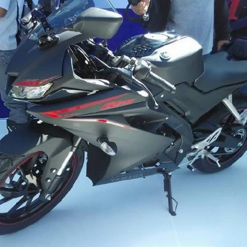 Yamaha Yzf R15 V3 0 Side Stand View