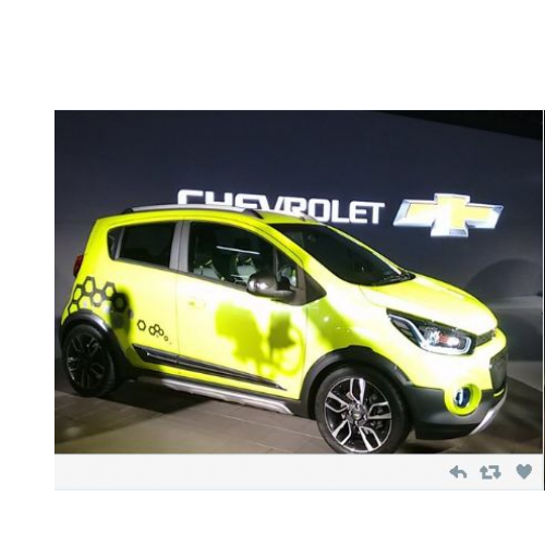 Chevrolet Beat Active Side View