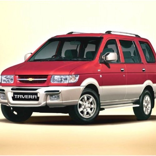 Hire Car In Bangalore: Chevrolet Tavera 2007 Price, Review, Pictures