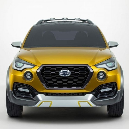 Datsun Go Cross Front View Grille Headlamp